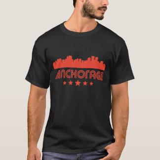 Retro Anchorage Skyline T-Shirt
