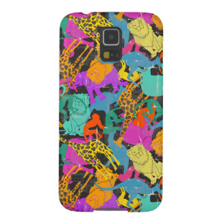 Retro Animal Silhouettes Pattern Cases For Galaxy S5