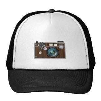 Rétro appareil-photo casquette