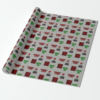 Retro Arcade Wrapping Paper