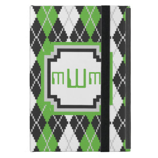 Retro Argyle iPad Powis Case Covers For iPad Mini