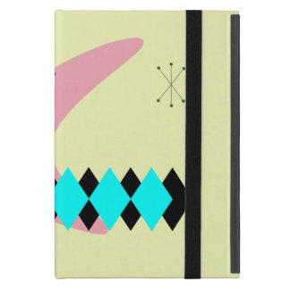 Retro Argyle Mid Century Modern iPad Mini Case