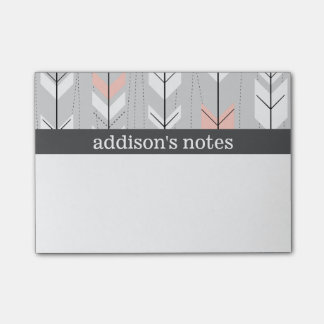 Retro Arrows Post-it Notes