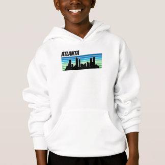 Retro Atlanta Skyline