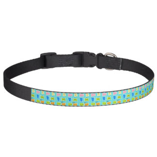 Retro Atomic Kitsch Dog Collar