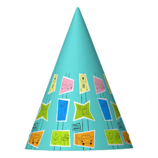 Retro Atomic Kitsch Kitchen Party Hat