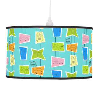 Retro Atomic Kitsch Pendant Lampt Pendant Lamp