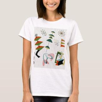 Rétro atomique d'Eames-Ère inspiré T-shirt