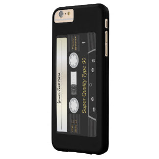 Retro Audio Cassette MixTape Barely There iPhone 6 Plus Case