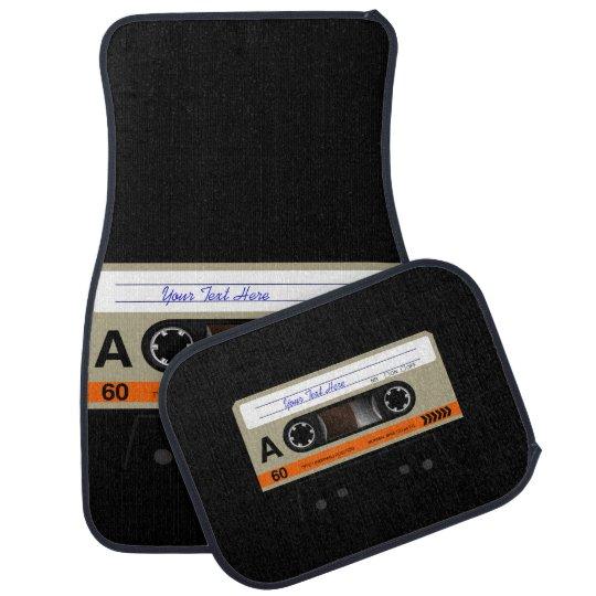 Retro Audio Cassette MixTape Car Carpet