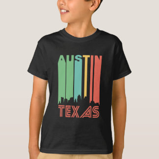 Retro Austin Skyline T-Shirt