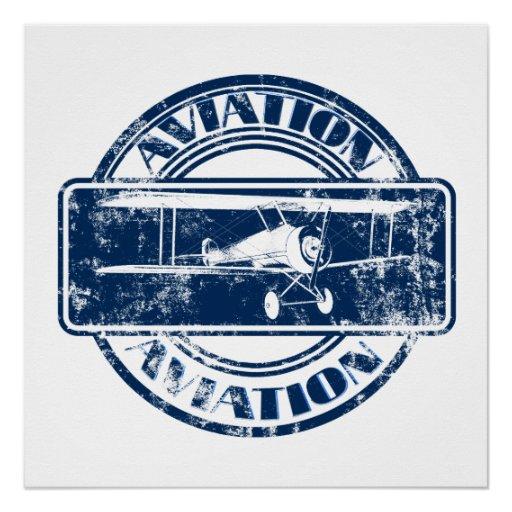 Retro Aviation Art Perfect Poster