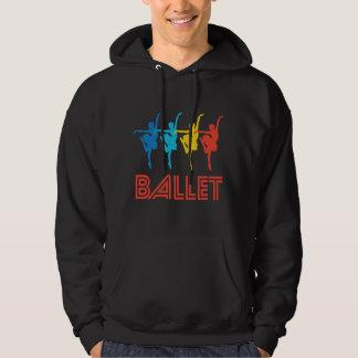 Retro Ballet Dance Pop Art Hoodie