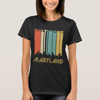 Retro Baltimore Skyline T-Shirt
