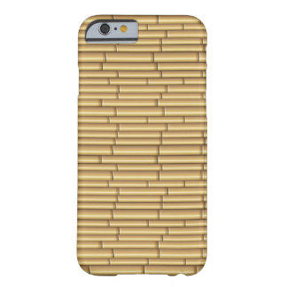 Retro Bamboo Patterns iPhone 6 case Barely There iPhone 6 Case