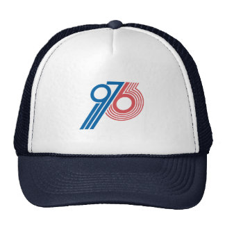 Rétro base-ball 1976 Hat.jpg Casquettes