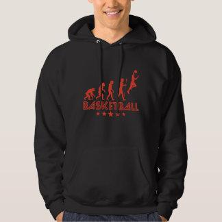 Retro Basketball Evolution Hoodie