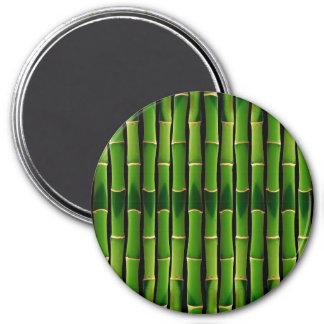 Retro Beige Bamboo Texture Pattern Refrigerator Magnets