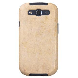Retro Beige Grunge Pattern Samsung Galaxy S3 Cases
