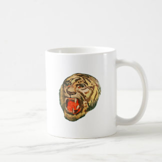 Retro Bengal Tiger Coffee Mug