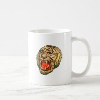 Retro Bengal Tiger Coffee Mug