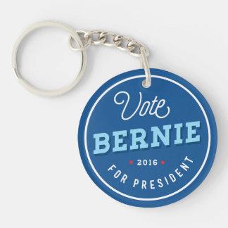 Retro Bernie Double-Sided Round Acrylic Keychain