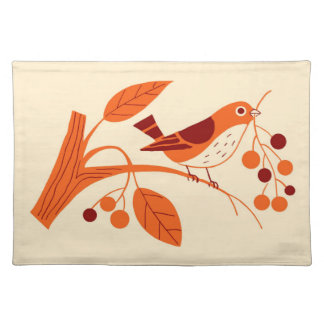 RETRO BERRY BIRD: SUMMER SUNSHINE PLACEMAT