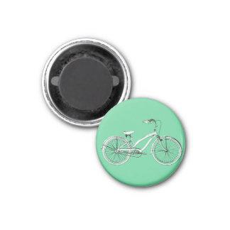 retro bicycle magnet