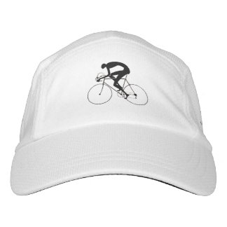 Retro Bicycle Silhouette 1986 Hat