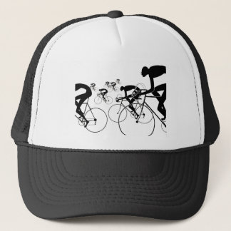 Retro Bicycle Silhouettes 1986 Trucker Hat