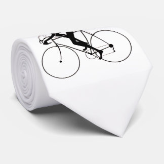 Retro Bicycle Silhouettes 2 1986 a Tie