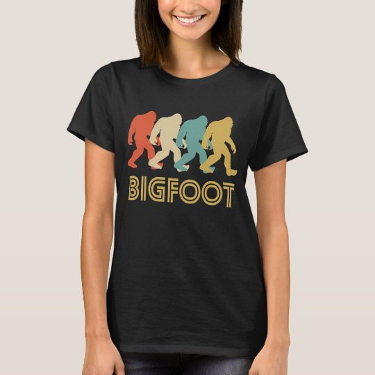 Retro Bigfoot Pop Art T-Shirt