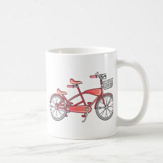 Retro Bike For Two Coffee Mug