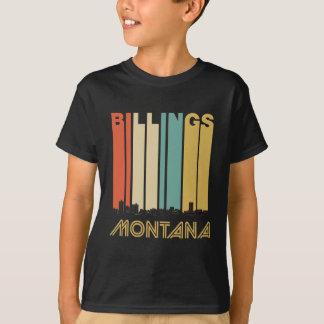 Retro Billings Montana Skyline T-Shirt