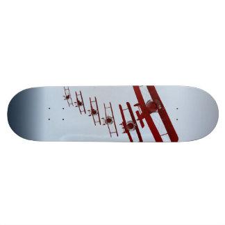 Retro Biplane Skate Board Deck
