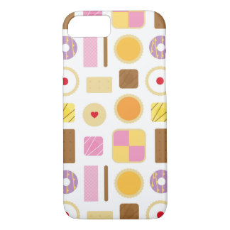 Retro Biscuits & Cakes Mobile Phone Case