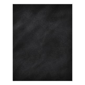 Retro Black Chalkboard Texture Flyer