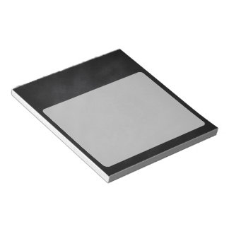 Retro Black Chalkboard Texture Notepad