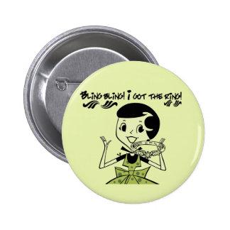 Retro Bling Ring Tshirts and Gifts Pin