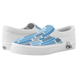 retro block Slip-On sneakers