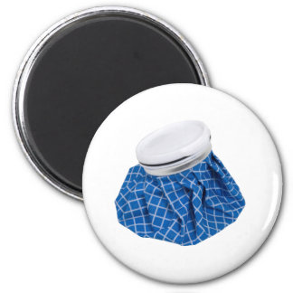 Retro Blue Ice Pack Magnet