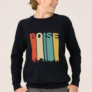 Retro Boise Idaho Skyline Sweatshirt