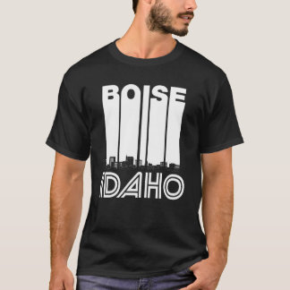 Retro Boise Idaho Skyline T-Shirt