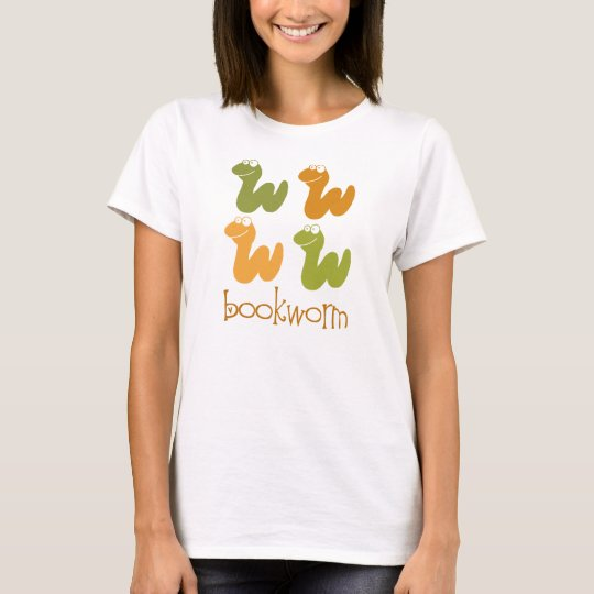 Retro Bookworm Reading Gift T-Shirt