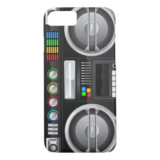 retro boom box ghetto blaster boombox Case-Mate iPhone case