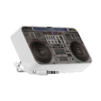 Retro Boom Box speaker