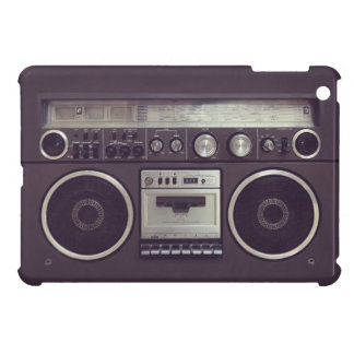 Retro Boombox Cassette Player Funny iPad case
