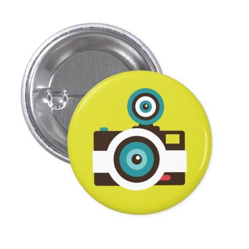 Rétro bouton de talent d'appareil-photo de jouet ( badges