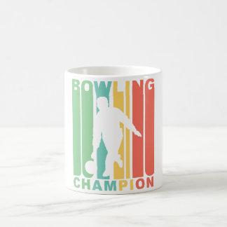 Retro Bowling Champion Coffee Mug