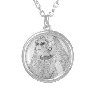 Retro Bride Silver Plated Necklace
